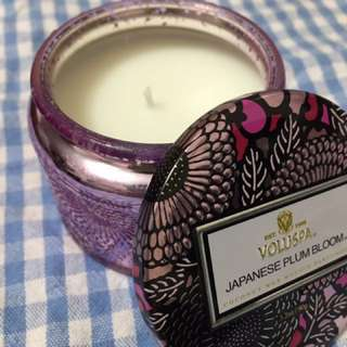 Voluspa candle(Japanese plum bloom)