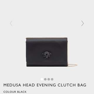 Versace Medusa Head Evening Clutch Bag