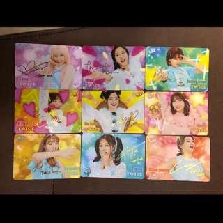 Twice 全員金簽Yes Card Set (不散)