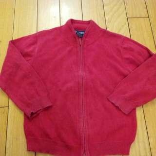 🚚 男童 3T 紅色外套