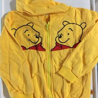 Winnie the Pooh hoodies jacket