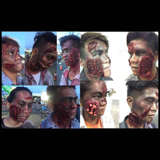 Prosthetic makeup/ special effects makeup