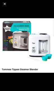Tommee tippee steamer and blender