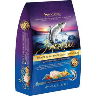 Zignature Trout & Salmon (for dog) 4lb