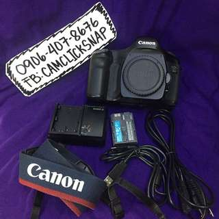 Canon eos 5d mark 1 with accesories 8k actuations only
