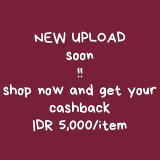 Cashback 5k/item
