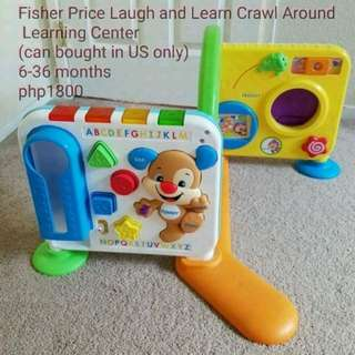 Fisher Price Laugh and Learn Crawl Around Learning Center