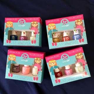 Kids Nail Polish Non-toxic Kids-safe Award-Winning Children Friendly Water-Based Peelable Suncoat Girl Nail Polish Manicure Kits