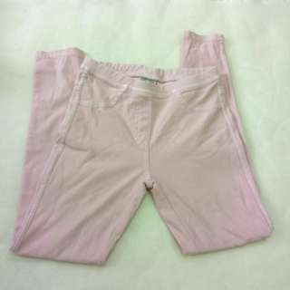 Zara girls' long pink pants
