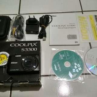 kamera nicon coolpix s3300