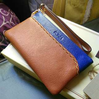 Bonia leather small wallet