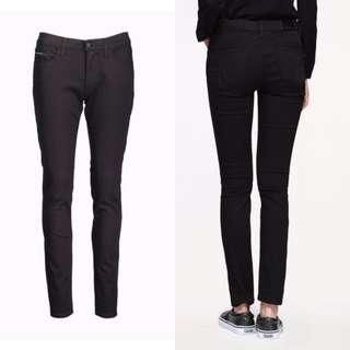 Calvin Klein black stretch jeans not cdg supreme bape Westwood y3