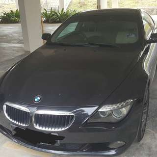 Bmw 630i Coupe LCI gearbox