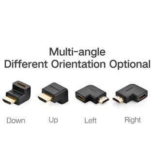 Ugreen 1080P  HDMI Male to HDMI Female Angle Converter