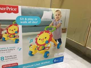 BNIB 3/1 Fisher Price Walker