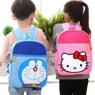 Pink Hello Kitty Kids School Bag