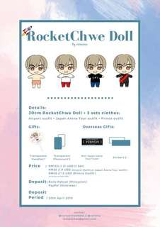 RocketChwe Doll by Vernina