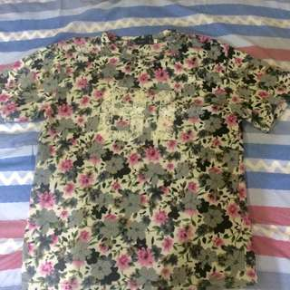 ZARA TOP SHIRT FLORAL