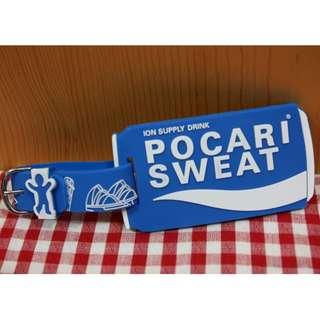全新 限量特別版 Pocari Sweat 寶礦力 旅行 行李牌