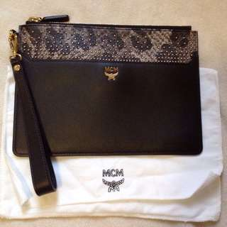 MCM Clutch Handbag 黑色手袋 手拿袋