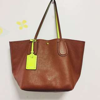 Coach Lather Tote Bag