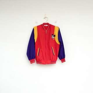 二手 B級米老鼠 紅色 外套 明太子 0228