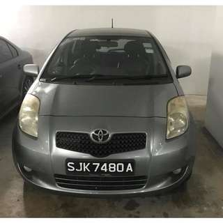 Toyota Yaris (UBER & GRAB Enabled)