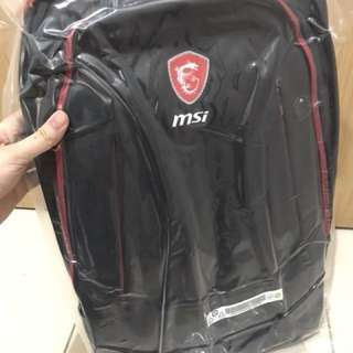 MSI Hecate Gaming Backpack Bnew Sealed