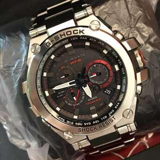 激新 G-Shock 電波光能藍寶面鋼錶 Metal MTG-S1000D-1A4DR MTGS1000D not G-Steel MTG-G1000D MRG-G1000B GMW-B5000D GMW-B5000TFG