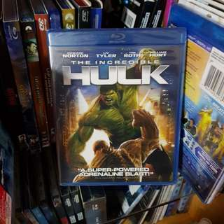 The Incredible Hulk Blu-Ray - Region A