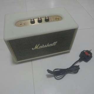 Marshall acton bleutooth speaker.