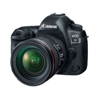 NEW Canon 5D Mark IV Camera + Canon EF 24-70mm F4 L IS USM Lens