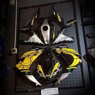 Yamaha r25 fairing set rm1450 Wasap 0126135416