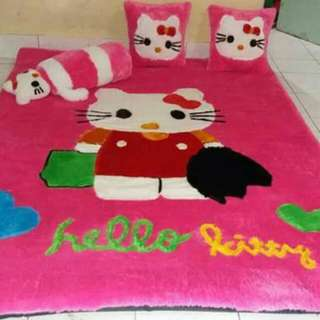 Karpet Set Standar Hellokitty