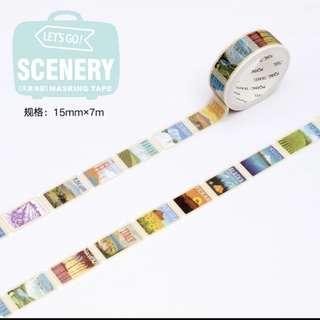 Landscape Poster Washi Tape