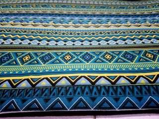 Karpet Kanvas Rugs motif Ethnic