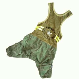 [FOR DOGS] Army Costume