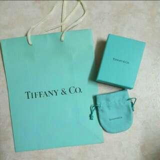 Tiffany box/ dust bag /paper bag gift set