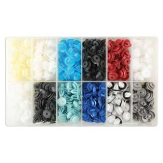 Asian Cars Assorted Body Panel Trim Clips 335 pcs