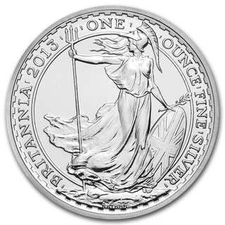 Various years Silver Britannia 1 oz Coin