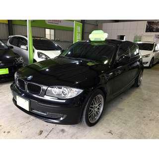 2011年 BMW 118I 黑色 2.0