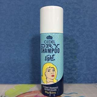 Cedel Dry Shampoo for LIGHT hair