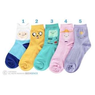 Adventure Time Socks