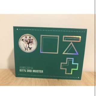 BTS Army.zip 3rd Muster DVD