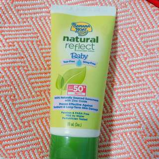 Banana Boat baby sunscreen