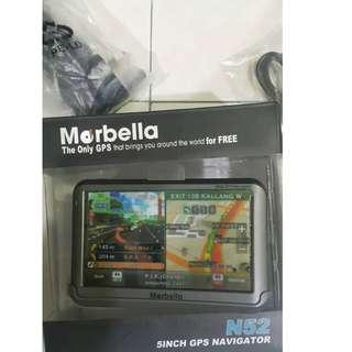 """Marbella N52 5""""  GPS Navigator"""
