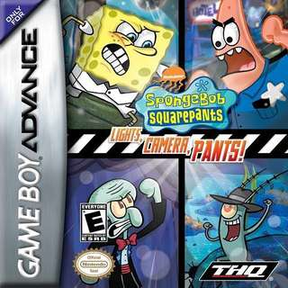 GBA Spongebob Squarepants