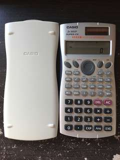 CASIO fx-3650p 計數機  99.9%新 有盒