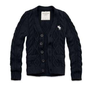 Abercrombie knitted cardigan
