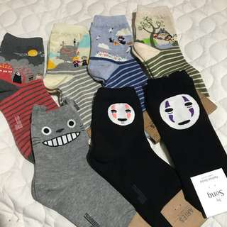 Studio Ghibli Socks